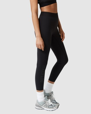 Tully Lou Compression Active Pants - Compression Bottoms (Black)