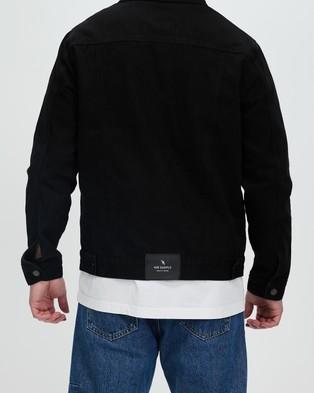 Mr Simple - Denim Jacket - Denim jacket (Black) Denim Jacket