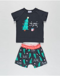 Bonds Baby - Tee & Short Sleep Set - Kids-Teens
