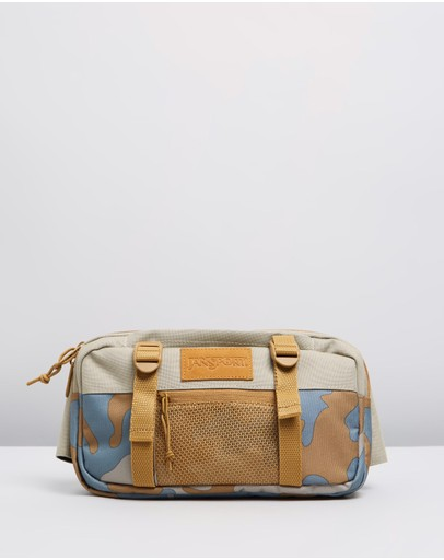 Jansport Way Out Suede Waist Pack Oyster Camo