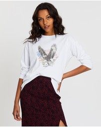 All About Eve - Take Flight Long Sleeve Tee