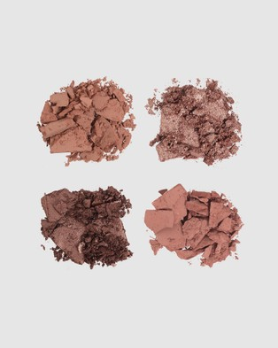 Mellow Cosmetics Eye Shadow Quads Rhea Beauty Mixed