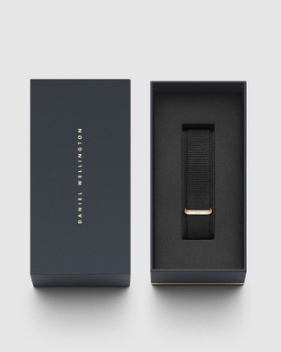 Daniel Wellington Nato Strap Petite 16 Cornwall Watch Band   For Petite 36mm - Watches (Rose gold)
