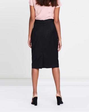 Farage Core Goldie Pencil Skirt - Pencil skirts (Black)