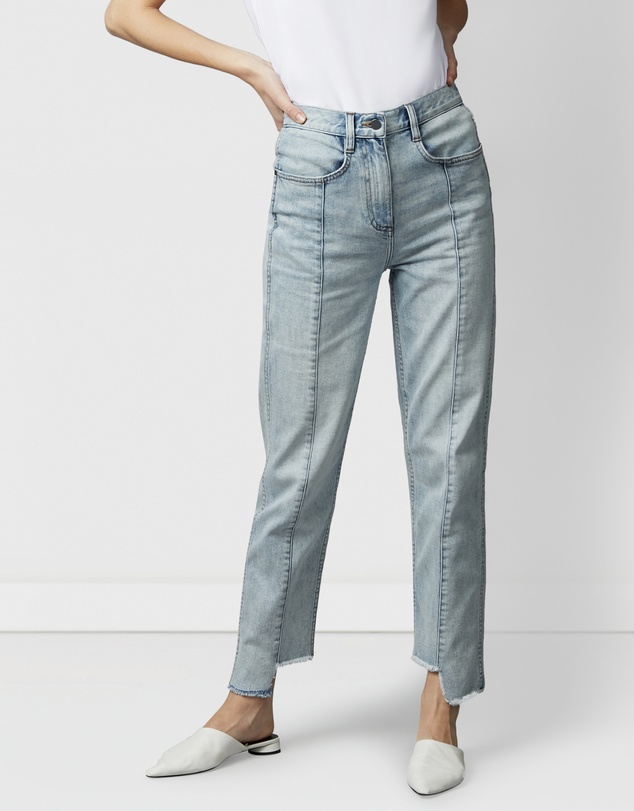 Nique - Byobu Pale Wash Denim Jeans