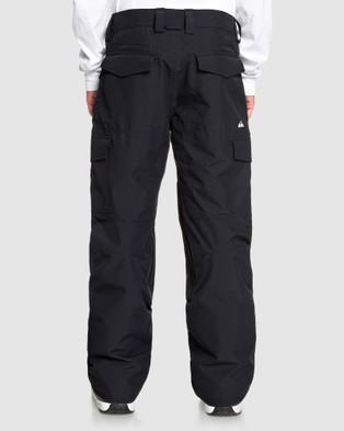Quiksilver Mens Porter Snow Pant - Pants (True Black)