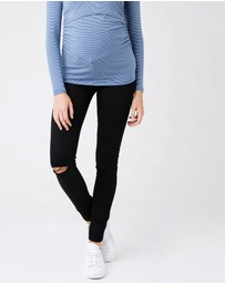Ripe Maternity - Isla Distressed Jeggings