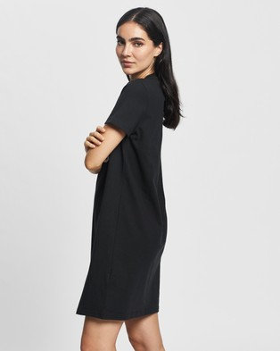 adidas Performance T Shirt Dress - Dresses (Black & White)