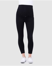 Ripe Maternity - Rebel Ankle Grazer Jeggings