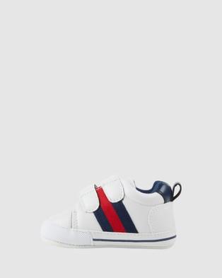Kicks Karter Sneakers - Sneakers (White/Navy/Red)