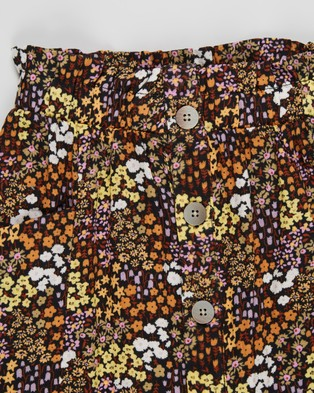 Free by Cotton On Ava Skirt   Teens - Skirts (Phantom & Floral Fields)