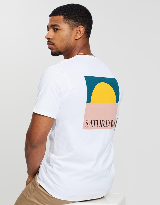 Saturdays NYC - Saturdays Sun SS Tee