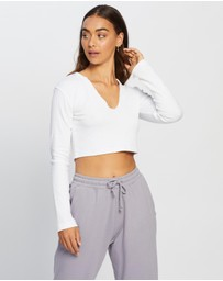 Missguided - Ribbed Crop Top