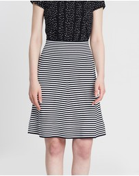 Marcs - Stripe Milano Skirt