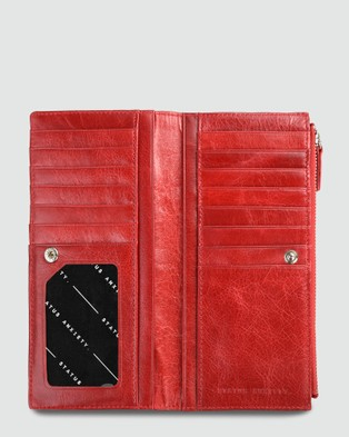 Status Anxiety Dakota Wallet Red - Wallets (Red)