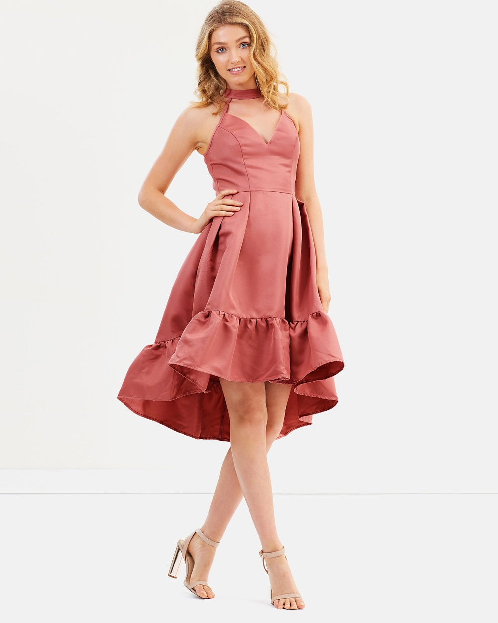 Chi Chi London Shannen Dress Dresses Pink Shannen Dress