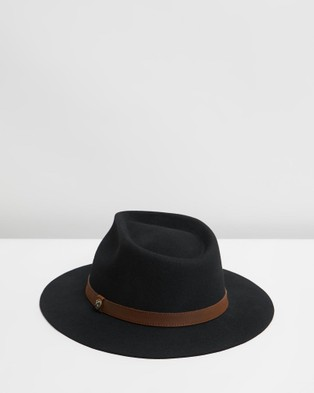 Billy Bones Club Boss Man Fedora - Hats (Black)