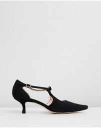 Atmos&Here - Grace Leather Heels