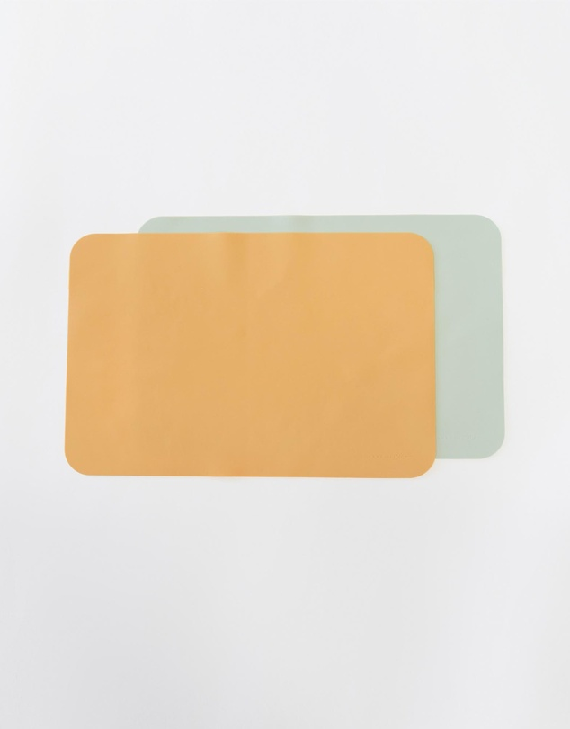 Kids ICONIC EXCLUSIVE - Silicone Placemat Rectangle 2 Pack