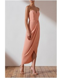Shona Joy - U' Bustier Draped Dress
