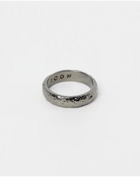 Icon Brand - Hammered Band Ring