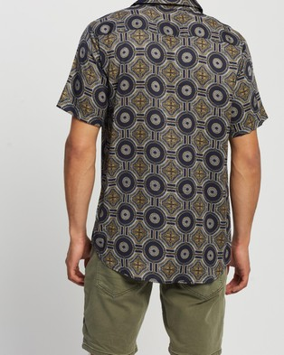 St Goliath Tangier SS Shirt - Casual shirts (Navy)
