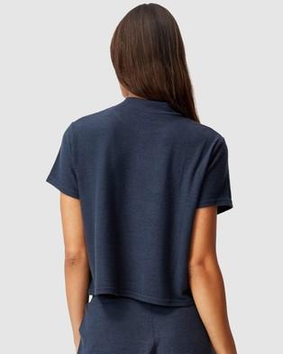 Cotton On Body - Super Soft Lounge T Shirt - T-Shirts & Singlets (Magnet Blue) Super Soft Lounge T-Shirt
