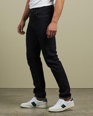 RRL by Ralph Lauren Slim Narrow 5 Pocket Denim Jeans Blue 5-Pocket