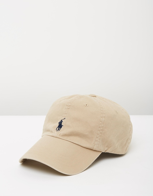 Cotton Chino Cap by Polo Ralph Lauren Online  630db6d660b