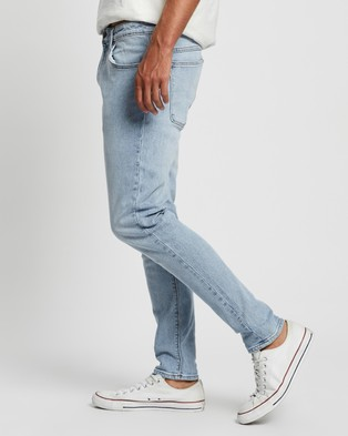 Abrand A Dropped Skinny Turn Up Jeans - Slim (Vent)