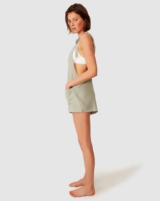Cotton On Body Beach Playsuit - Jumpsuits & Playsuits (Khaki)