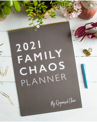 Write to Me - 2021 Family Chaos Planner
