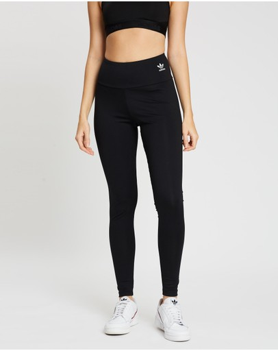 Adidas Originals Adicolour Tights Black & White