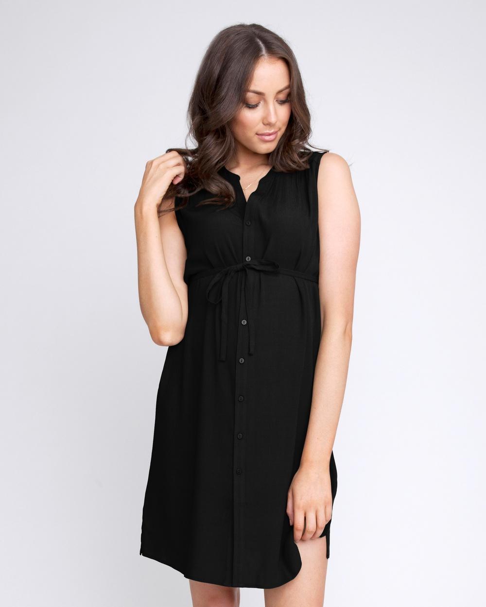 Ripe Maternity - April Dress Dresses (Black)