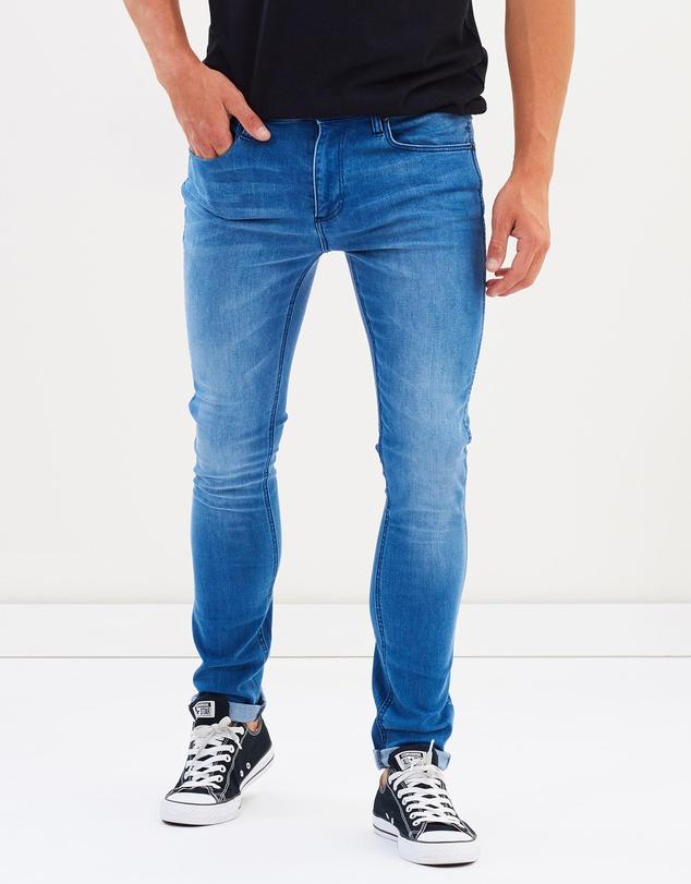 Men Strangler Jeans