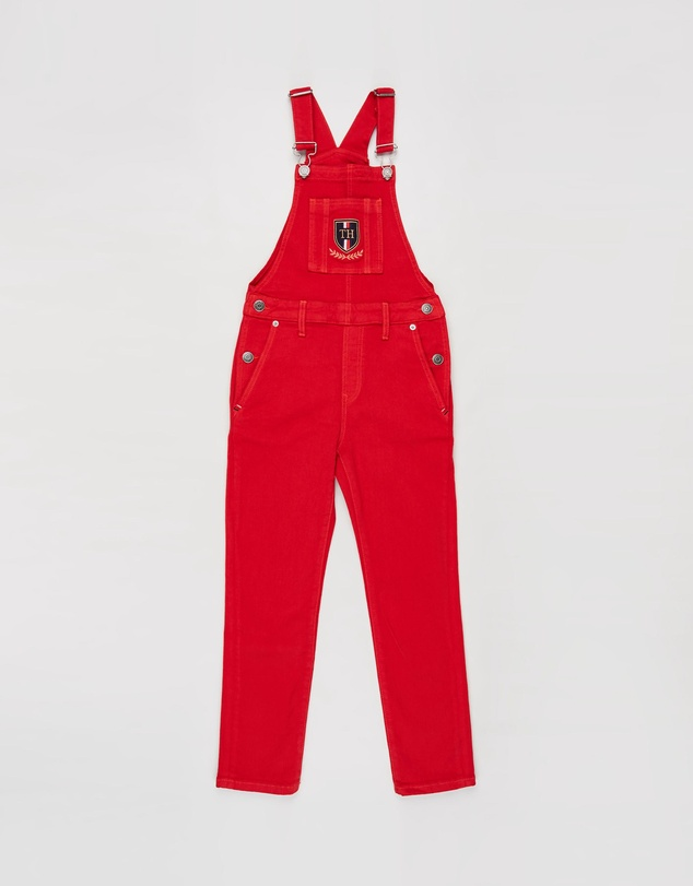 Tommy Hilfiger - Monogram Shield Dungarees - Teens