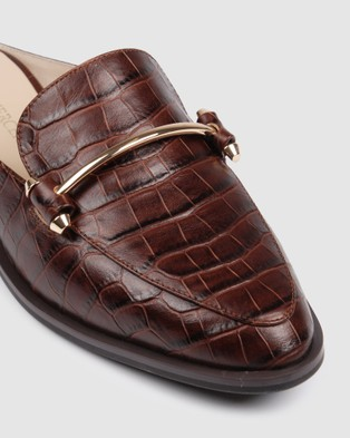Jo Mercer Webster Loafers - Flats (Brown)