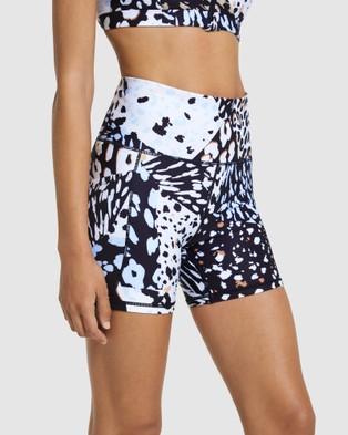 Rockwear Urban Jungle Pocket Bike Shorts - Sports Bras (URBAN JUNGLE)