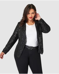 Pink Dusk - All Day & Night Sequin Jacket