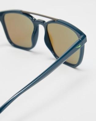 Nike Windfall - Sunglasses (Space Blue & Blue Mirror)