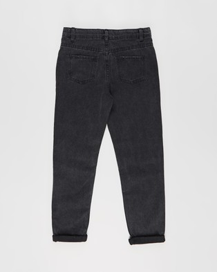 Cotton On Kids India Slouch Jeans   Kids Teens - Relaxed Jeans (Black)