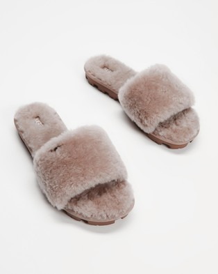 UGG Cozette Slippers   Women's - Slippers & Accessories (Oyster)