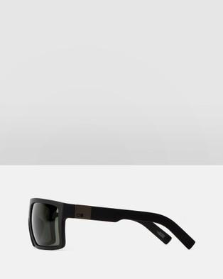 Otis Capitol Polarised - Sunglasses (Matte Black Polarised)