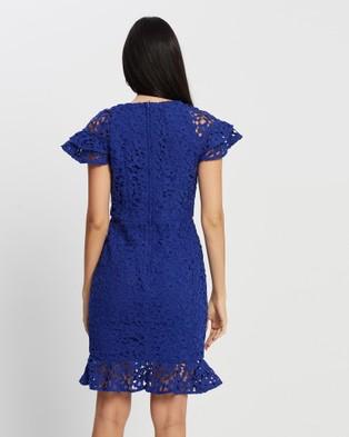 Romance by Honey and Beau Dolce Vita Dress - Dresses (Electric Blue)