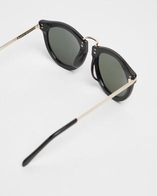 Karen Walker Harvest - Sunglasses (Black & Gold)