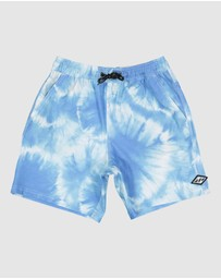 Billabong - Elastic Tie Dye   Boys