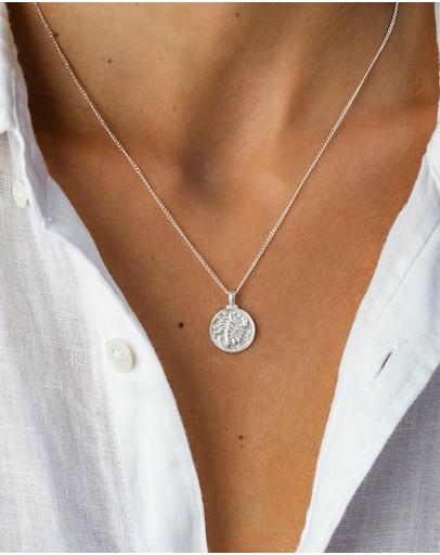 Kirstin Ash Scorpio Zodiac Necklace Sterling Silver