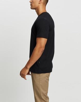 Mr Simple - Reginald Tee - T-Shirts & Singlets (Black) Reginald Tee