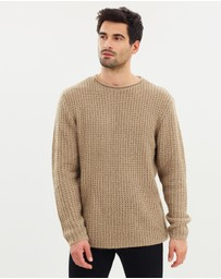 Staple Superior - Grunge Knit Jumper