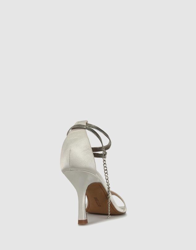 Women Cript 2 Ankle Chain Stilettos